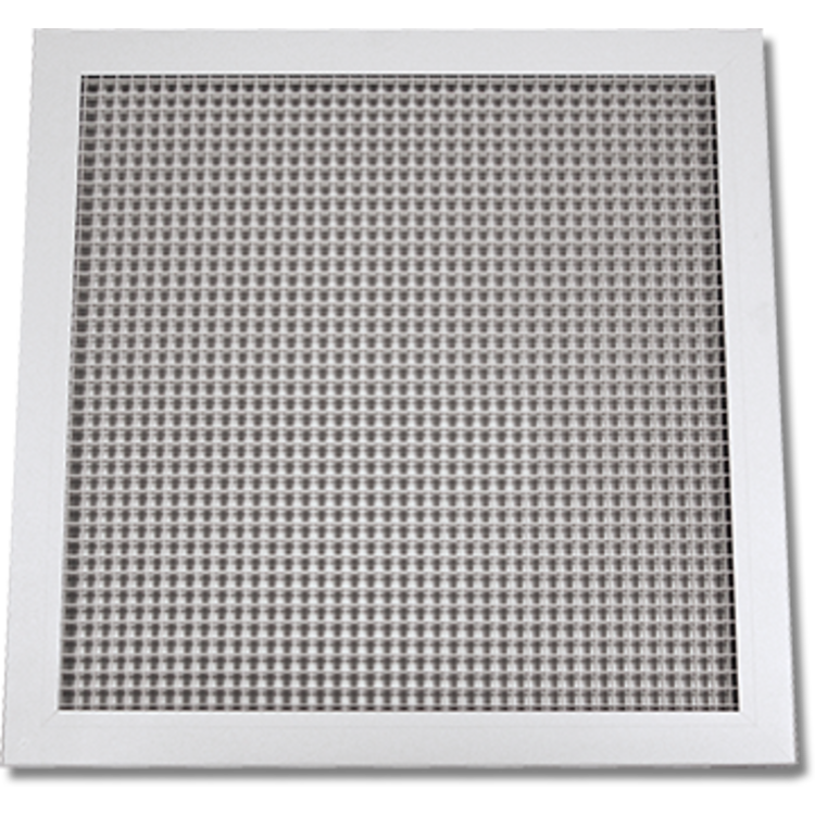 Lattice Hvac Grille : Soft white lattice return air grille t bar aluminum