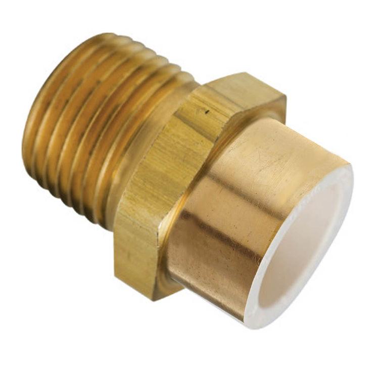 Quot brass mip cpvc pvc slip adapter plumbersstock