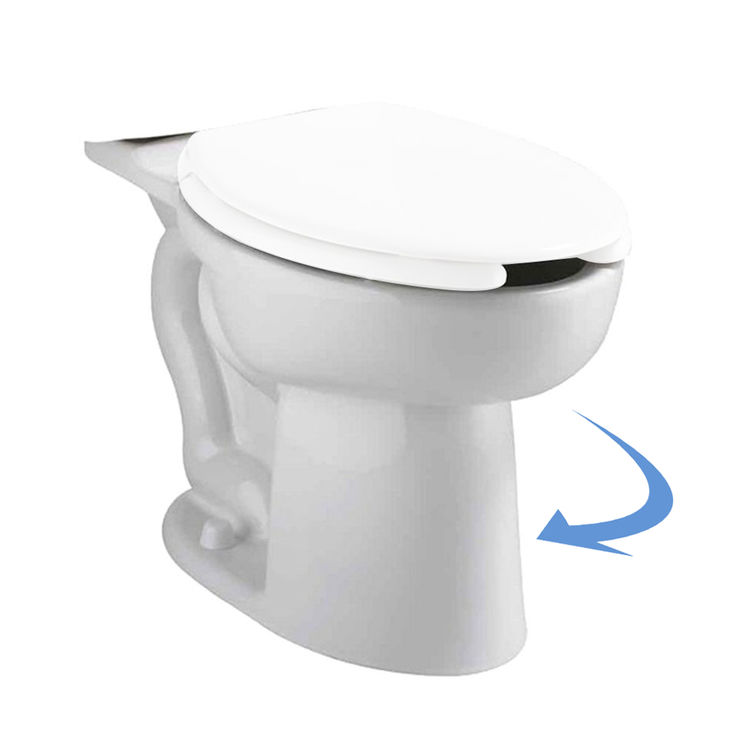 American Standard 3483 001 020 Cadet Elongated Toilet Bowl