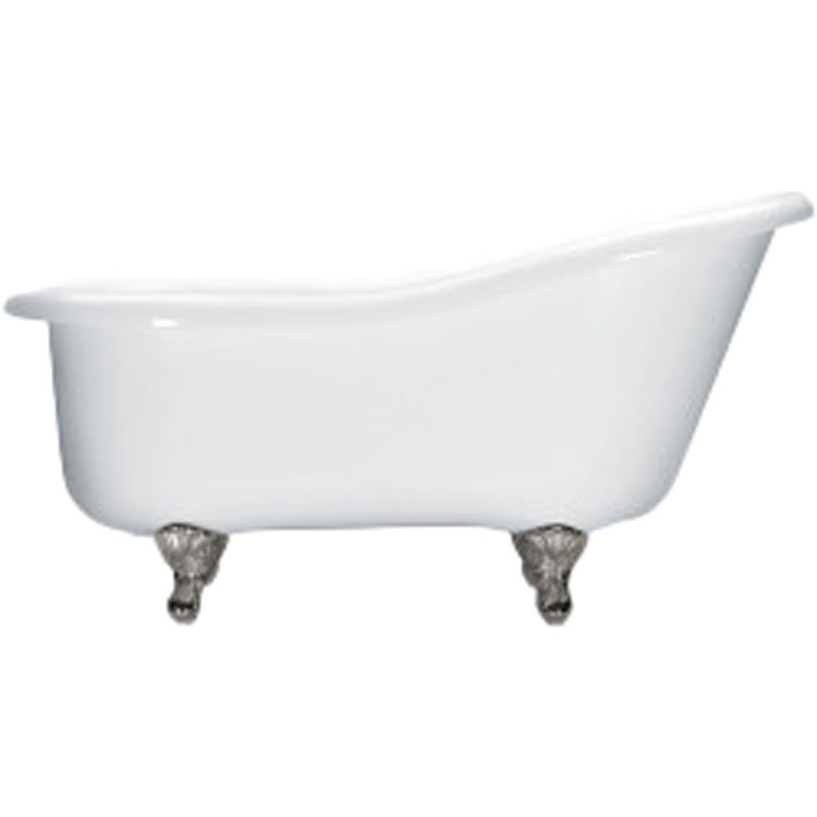 Aquatic Bath AIY6017TO WH White End Drain 60 X32 X30 Acrylic