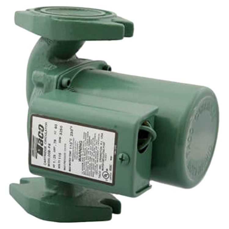 Taco 008-F6 Cast Iron 1/25 HP Circulator Pump 687752190434
