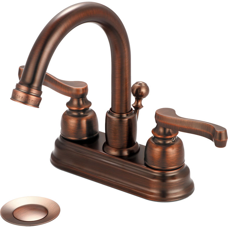 Pioneer 3BR330 ORB Two Handle Lavatory Faucet In An Oil