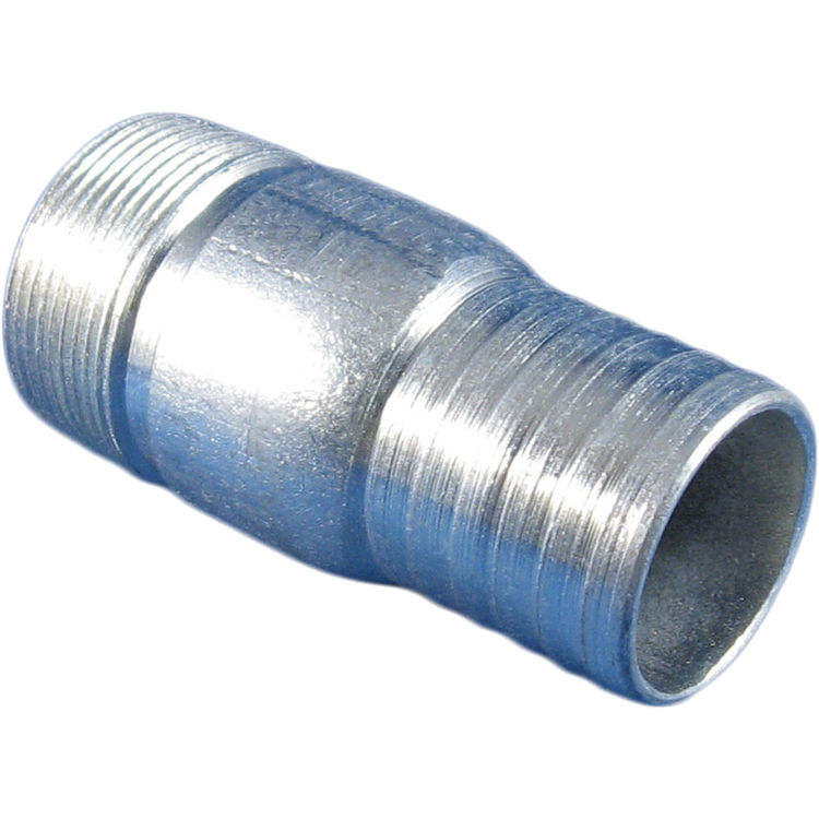 Galvanized quot male poly insert adapter plumbersstock