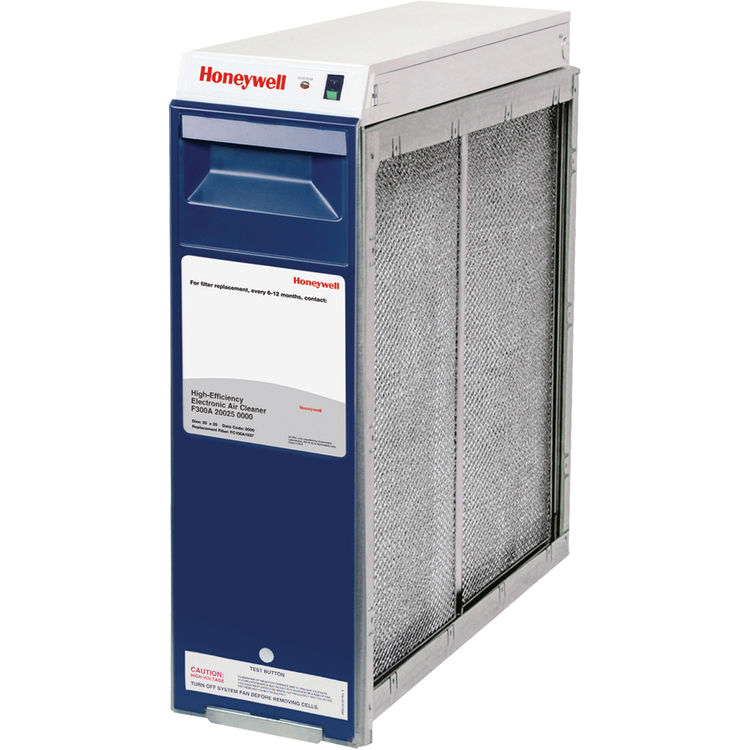 Electronic Air Cleaner : Honeywell f e electronic air cleaner