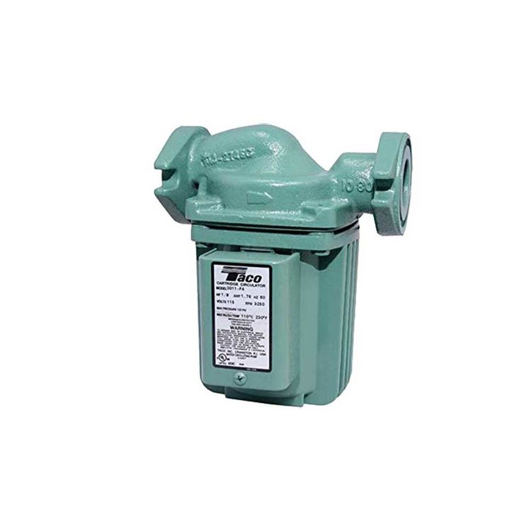 Taco 0011-F4 1/8 HP Cast Iron Circulator Pump 687752190991