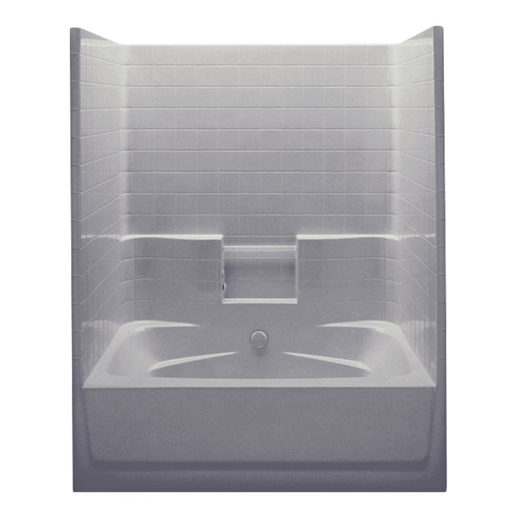 Aquatic Industries 6042STWC ST Sterling Silver 60 X42 X76 Tub