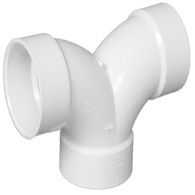 2 dwv pvc double elbow plumbersstock for 90 degrees salon charlotte