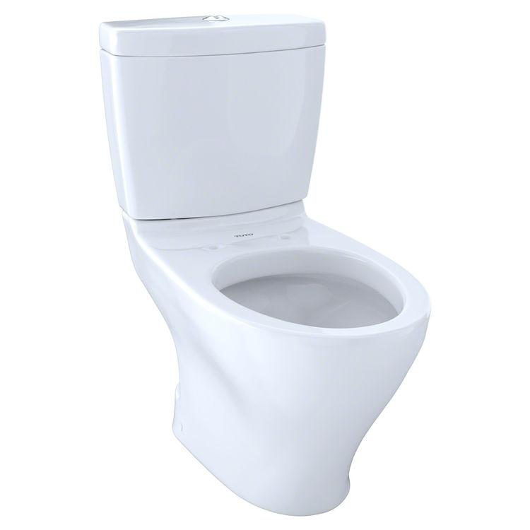 Toto CST416M 01 Aquia II Dual Flush Toilet Cotton White PlumbersStock