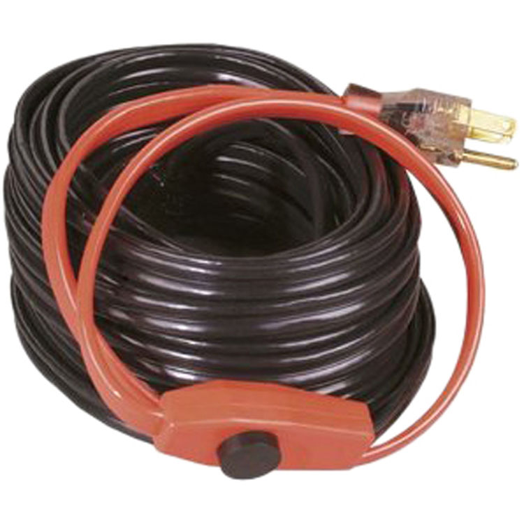Easyheat ahb 130 30 39 heat tape plumbersstock for Pex pipe freeze protection