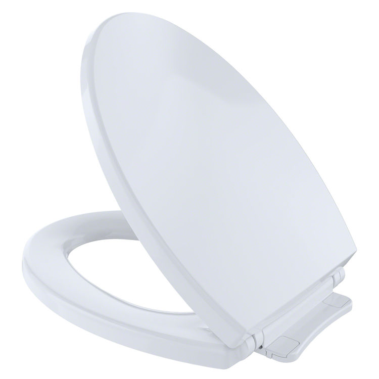 Toto Ss114 01 Softclose Elongated Toilet Seat Cotton