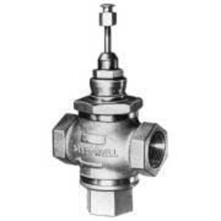 All Copper Universal Water Heater Mixing Valve U Type: Honeywell V5013B1003/U 3-Way Flanged Globe Valve