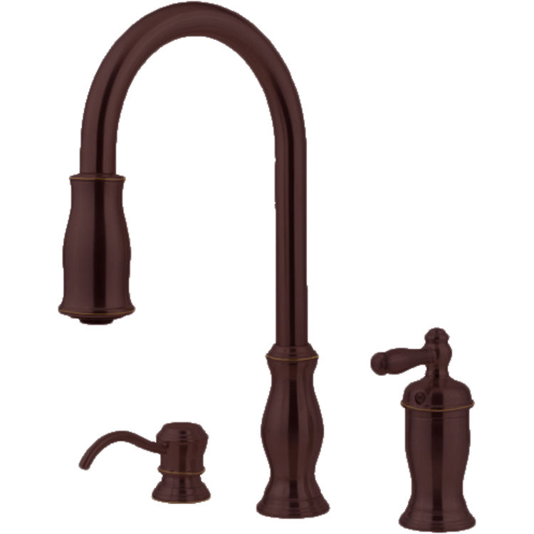 Pfister Gt526 Tmy Hanover One Handle Pulldown Kitchen Faucet Plumbersstock