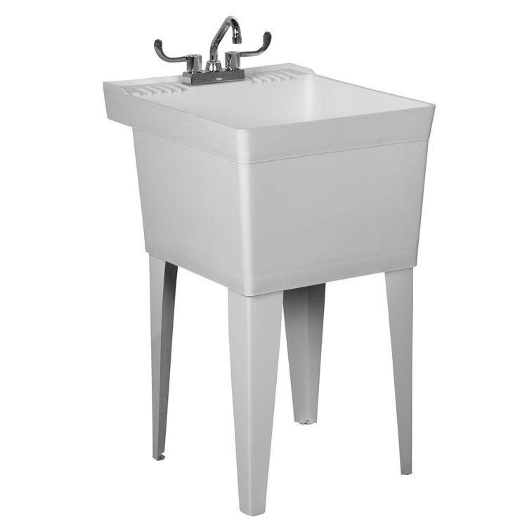 Fiat Tat1100 Heavy Duty Laundry Tub With Faucet