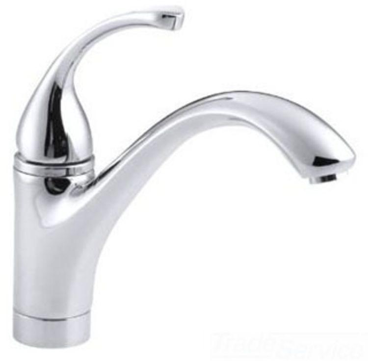Repair Kohler Forte Kitchen Faucet: Kohler K-10415-CP Polished Chrome Forte Kitchen Faucet