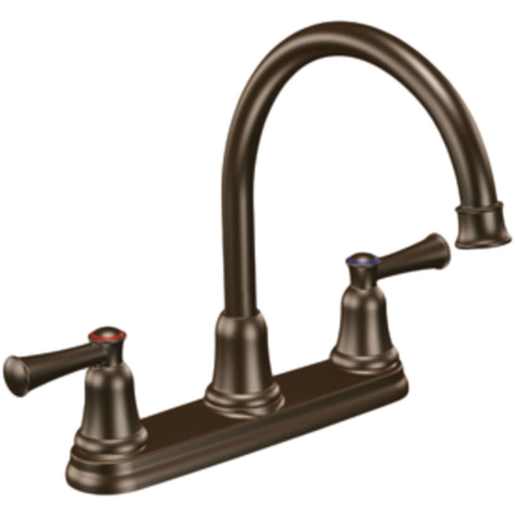Moen Old Style Clear Replacement Faucet Handle 13092: Moen CFG CA41611OWB Capstone Series Two-Handle Kitchen